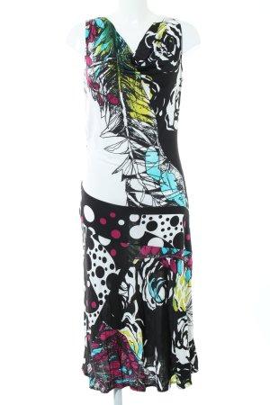 Dresses Unlimited Midikleid abstraktes Muster Casual-Look