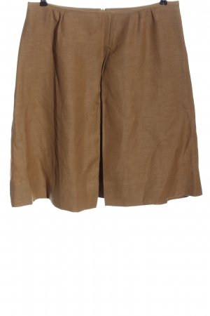 Dries van Noten Jupe en lin brun style d'affaires