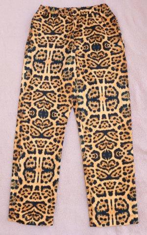 Dries van Noten Leopard Print Hose aus Viscose