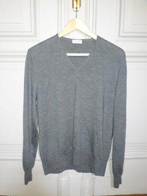 Dries van Noten Wool Sweater silver-colored wool