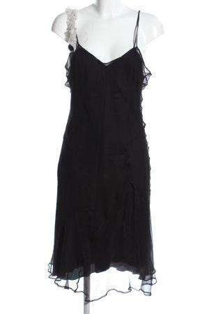 Dries van Noten Trägerkleid schwarz extravaganter Stil