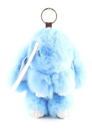 DRJACKETS Porte-clés bleu-blanc style d'affaires