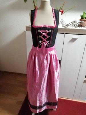 Janina Traditional Skirt black-pink