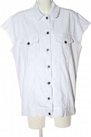 Dr. Denim Smanicato jeans bianco stile casual