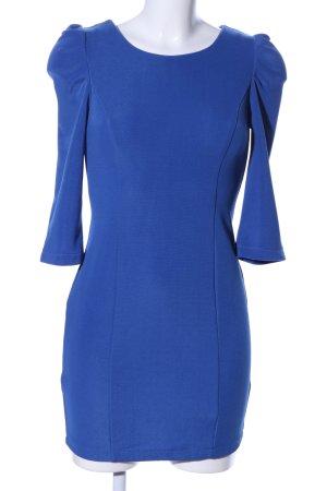 Drole de copine Langarmkleid blau Casual-Look
