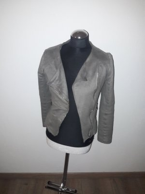 Drole de copine Biker Jacket grey brown