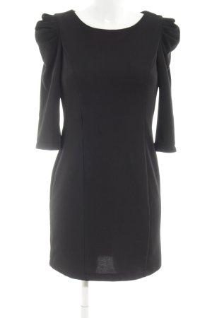 Drole de copine Vestido elástico negro elegante