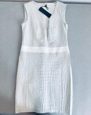 Drome Leren jurk wit Leer