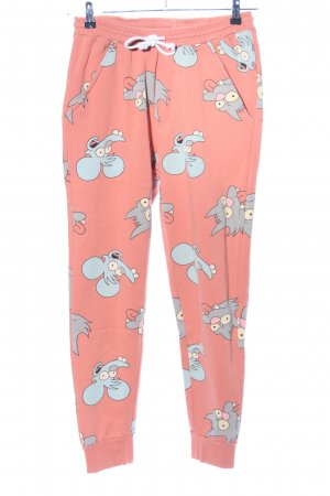 Dropdead Sweat Pants allover print casual look
