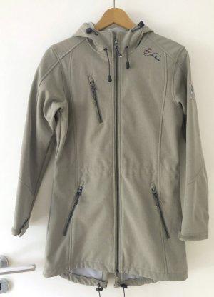 dry fashion Manteau de pluie gris clair-kaki polyester