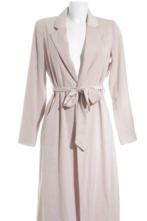 Dry Lake Floor-Lenght Coat pink