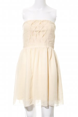 "Dry Lake schulterfreies Kleid ""Olivia Dress"" nude"