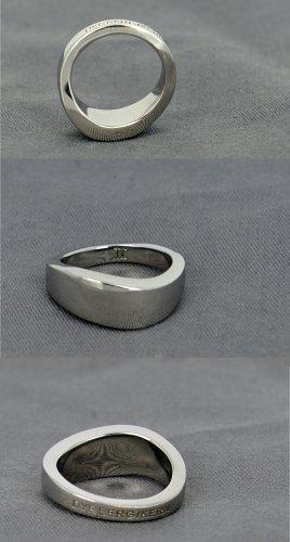 Dyrberg/Kern Anillo de plata color plata metal