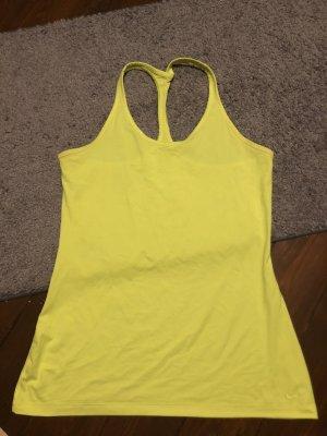 DryFit Nike Sportswear M 38 mein Gelb Top