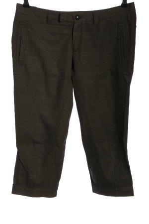 Drykorn 3/4-Hose bronzefarben Karomuster Casual-Look