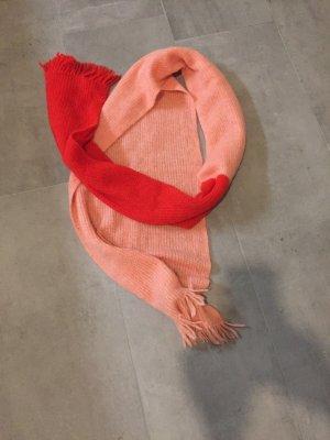 Drykorn Bufanda de lana rojo lana de alpaca