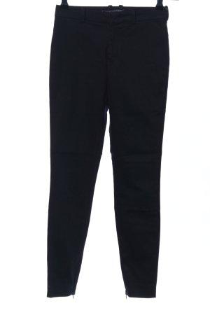 Drykorn Pantalón de vestir negro look casual
