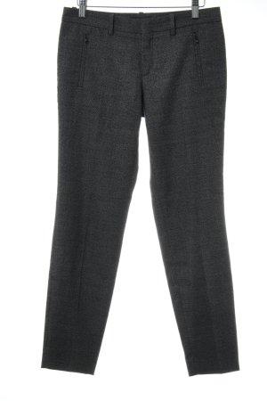 Drykorn Anzughose schwarz-weiß Business-Look
