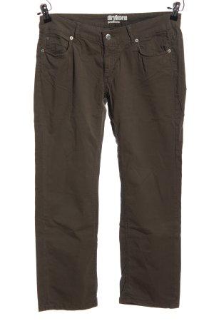 Drykorn Pantalon «Baggy» brun style décontracté