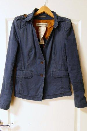 Drykorn Blazer en jean bleu foncé coton