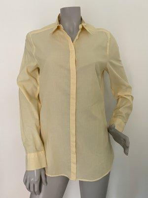 Drykorn Bluse Langarm Baumwolle gelb Gr. 3 (38) WIE NEU