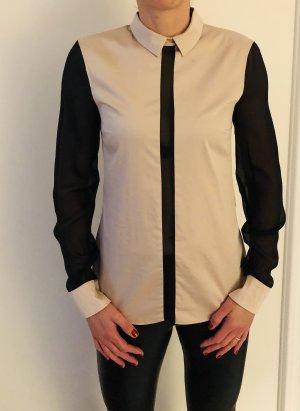 Drykorn Bluse mit transparenten Einsätze, Gr. 36