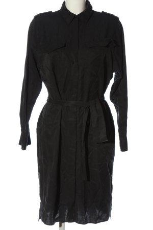 Drykorn Koszulowa sukienka czarny Melanżowy W stylu casual