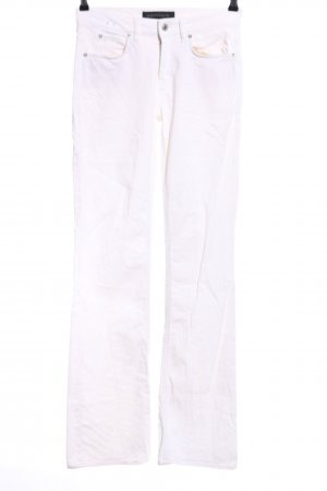 Drykorn Boot Cut Jeans weiß Casual-Look
