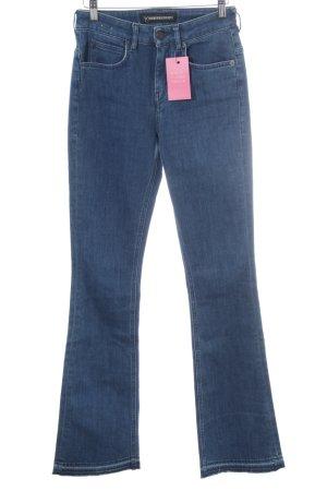 Drykorn Boot Cut Jeans stahlblau Casual-Look