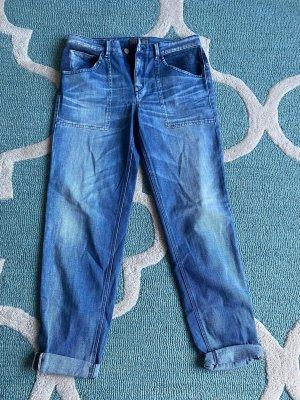 Drykorn Jeans boyfriend bleu
