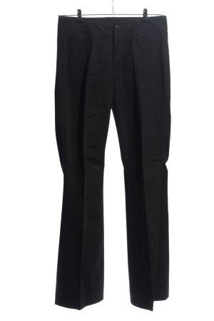 Drykorn Pantalone a pieghe nero stile casual