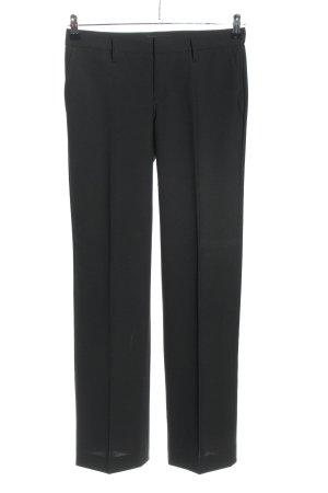 Drykorn Pantalone a pieghe nero Tessuto misto