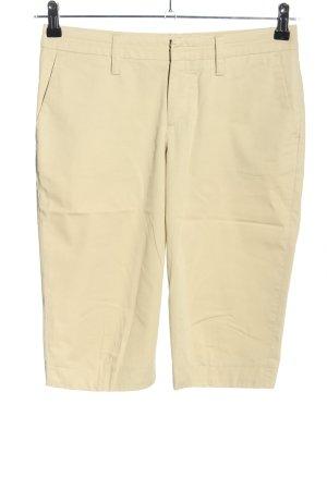 Drykorn Spodnie Capri kremowy W stylu casual