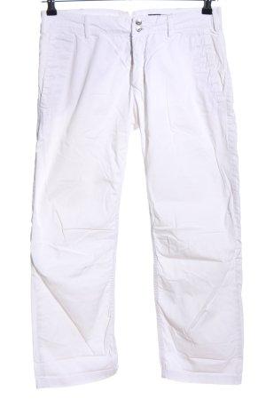 Drykorn Pantalon capri blanc style décontracté