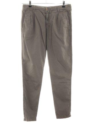 Drykorn Pantalone chino marrone stile casual