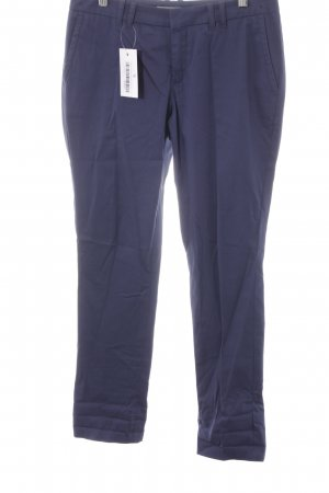 Drykorn Chinohose dunkelblau Casual-Look