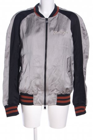 Drykorn Collegejacke Motivdruck Casual-Look