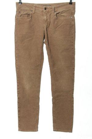 Drykorn Corduroy broek bruin casual uitstraling
