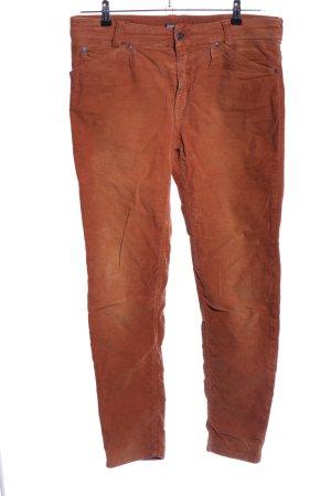 Drykorn Corduroy broek rood casual uitstraling