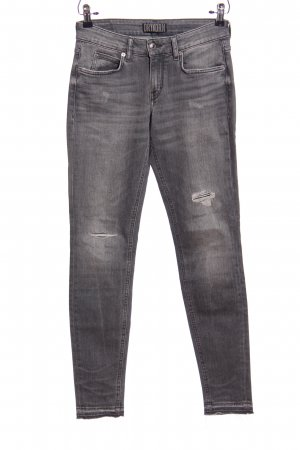 Drykorn Five-Pocket-Hose hellgrau Casual-Look
