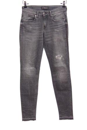 Drykorn Pantalón de cinco bolsillos gris claro look casual