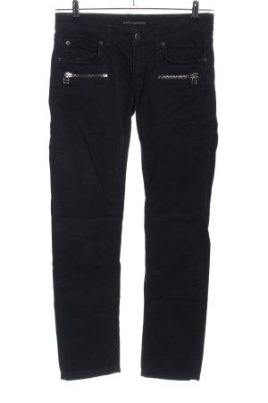 Drykorn Pantalón de cinco bolsillos negro look casual