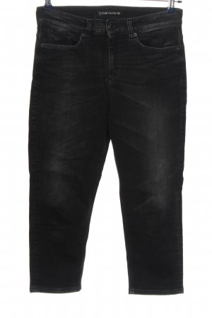 Drykorn for beautiful people 7/8-jeans zwart casual uitstraling
