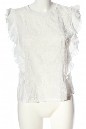 Drykorn for beautiful people ärmellose Bluse weiß Casual-Look