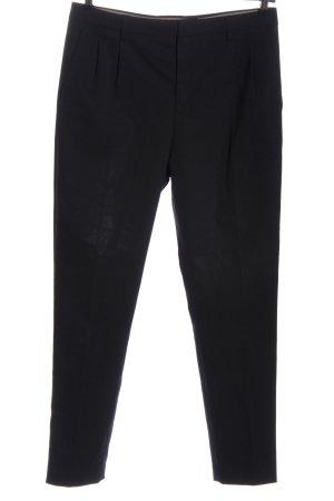 Drykorn for beautiful people Pantalone da abito nero stile professionale