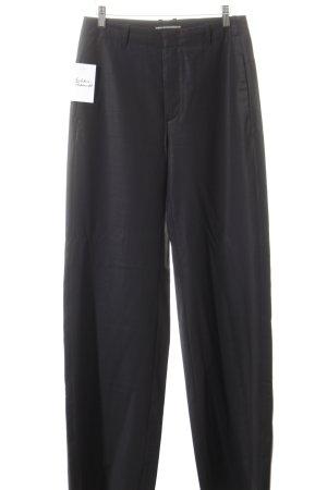 Drykorn Anzughose schwarz Streifenmuster