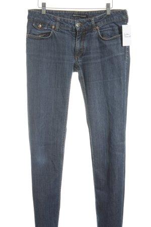 Drykorn Boot Cut Jeans stahlblau schlichter Stil