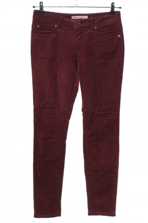 Drykorn for beautiful people Pantalón de pana rojo look casual