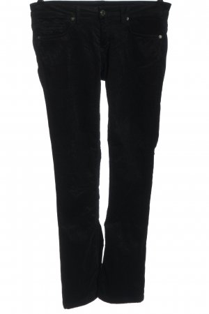 Drykorn for beautiful people Pantalón de pana negro look casual