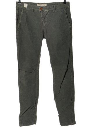 Drykorn for beautiful people Spodnie sztruksowe jasnoszary W stylu casual